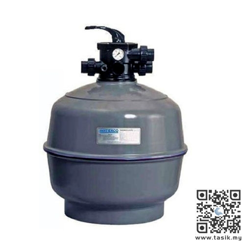 Tasik Inovatif Waterco Thermoplastic Top Mount Sand Filters